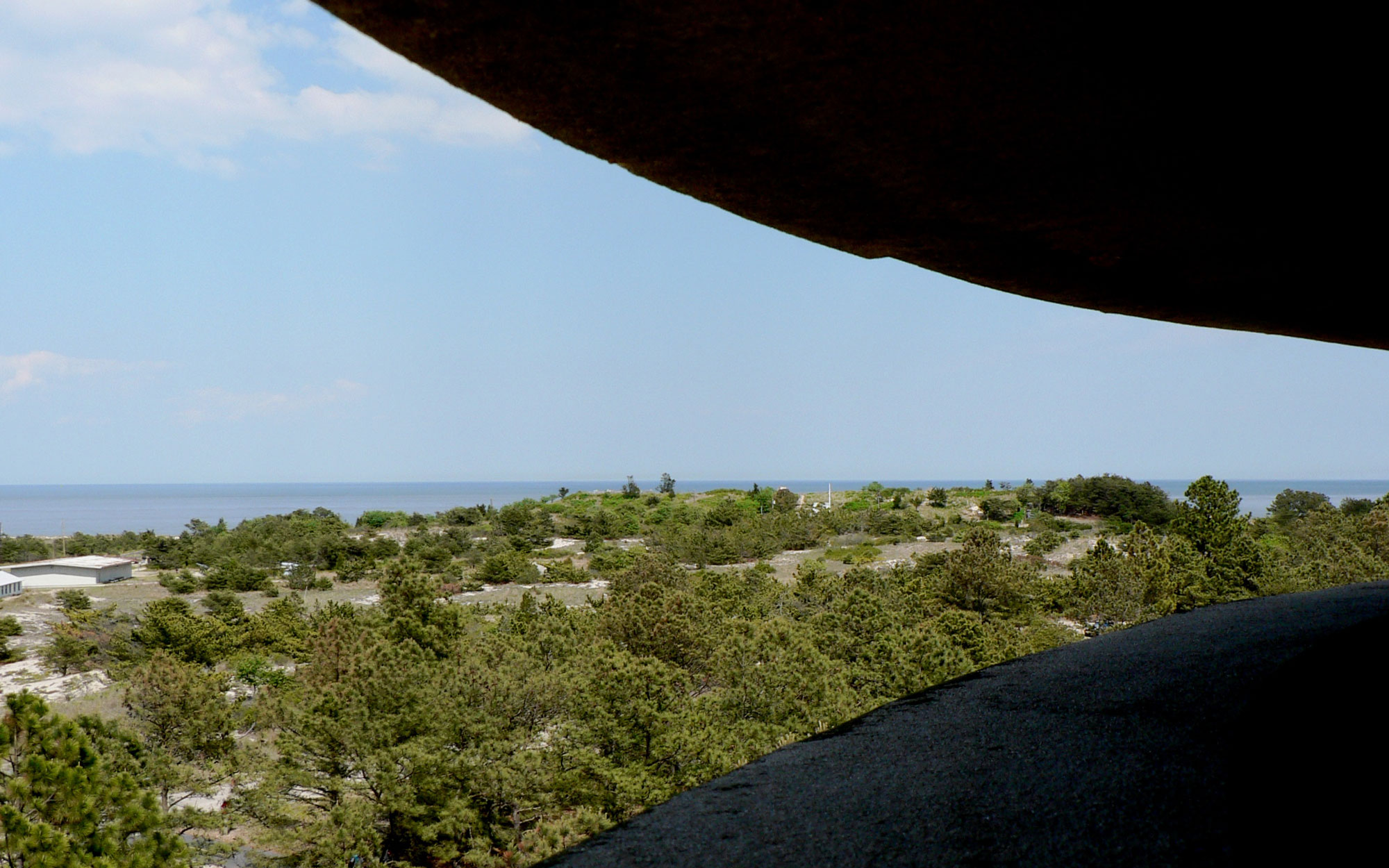 Delaware from the WWII Tower at Cape Henlopen State Park