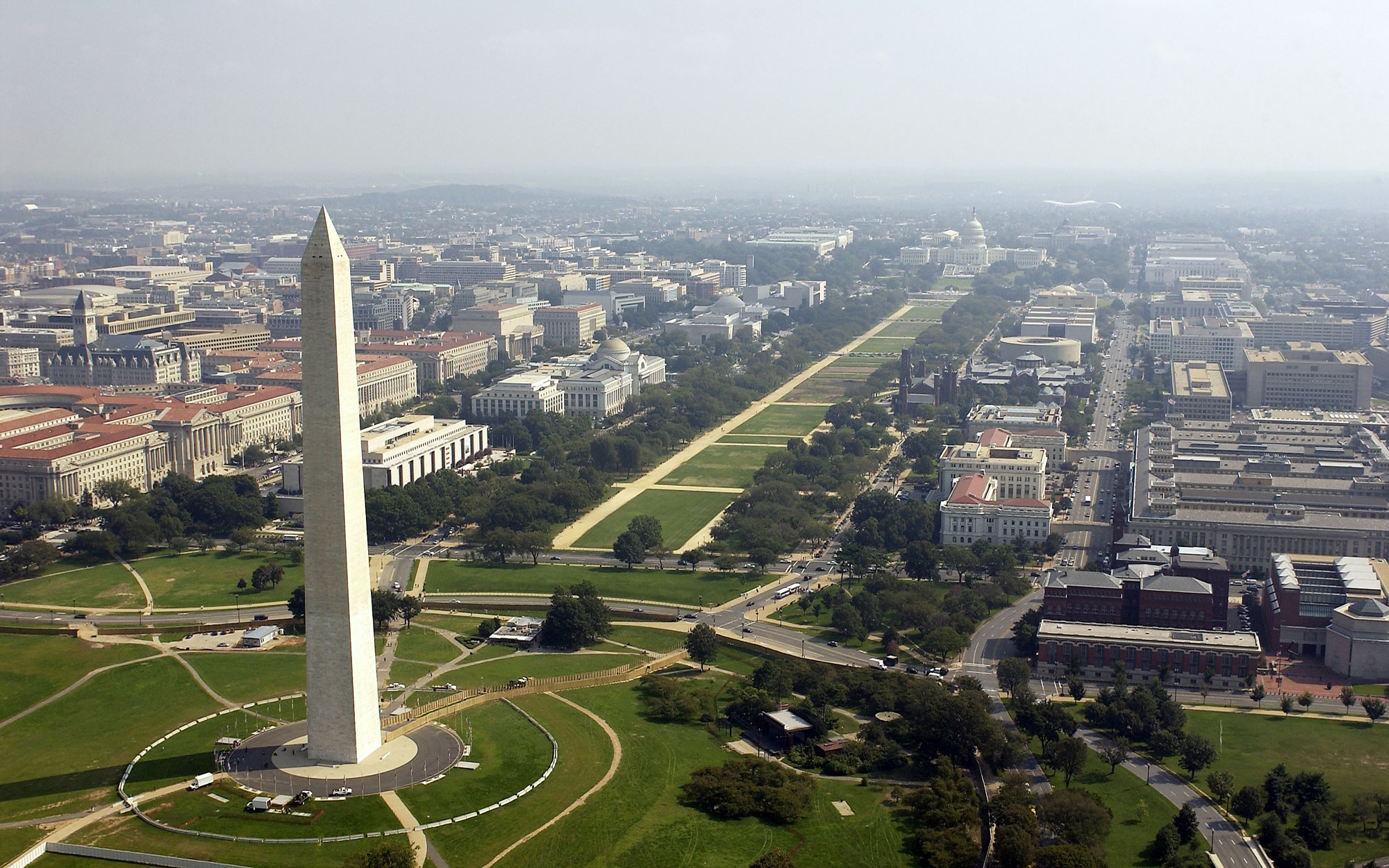 District of Columbia from Washington Monument
