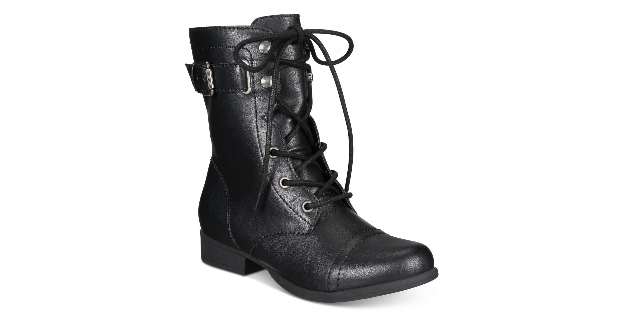 Fionn Lace-Up Combat Boots