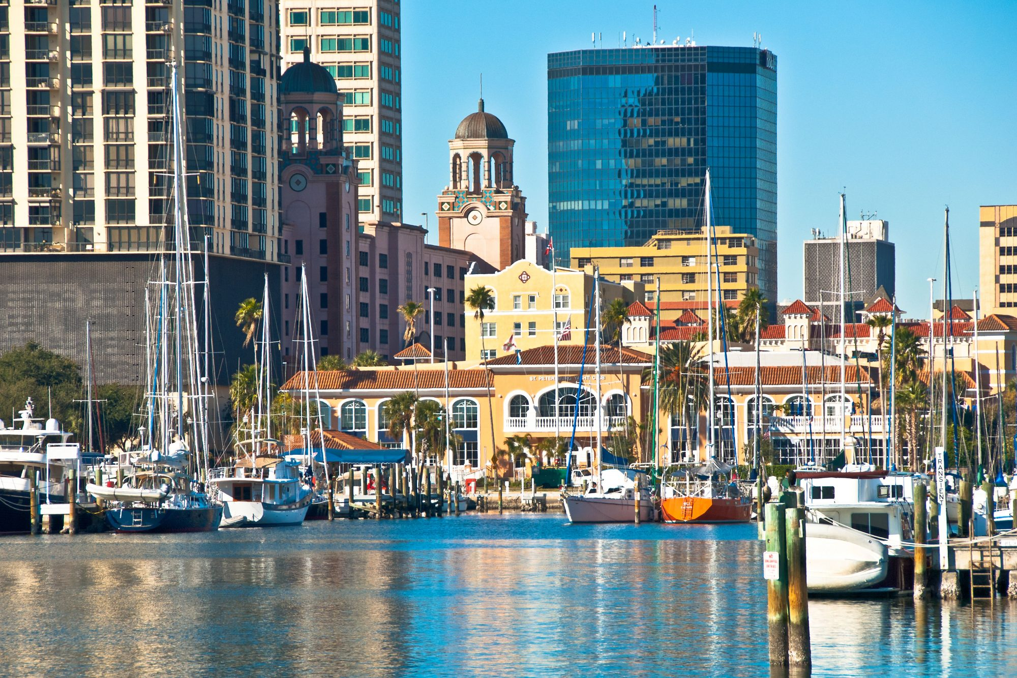 Beach Drive and Downtown St. Petersburg