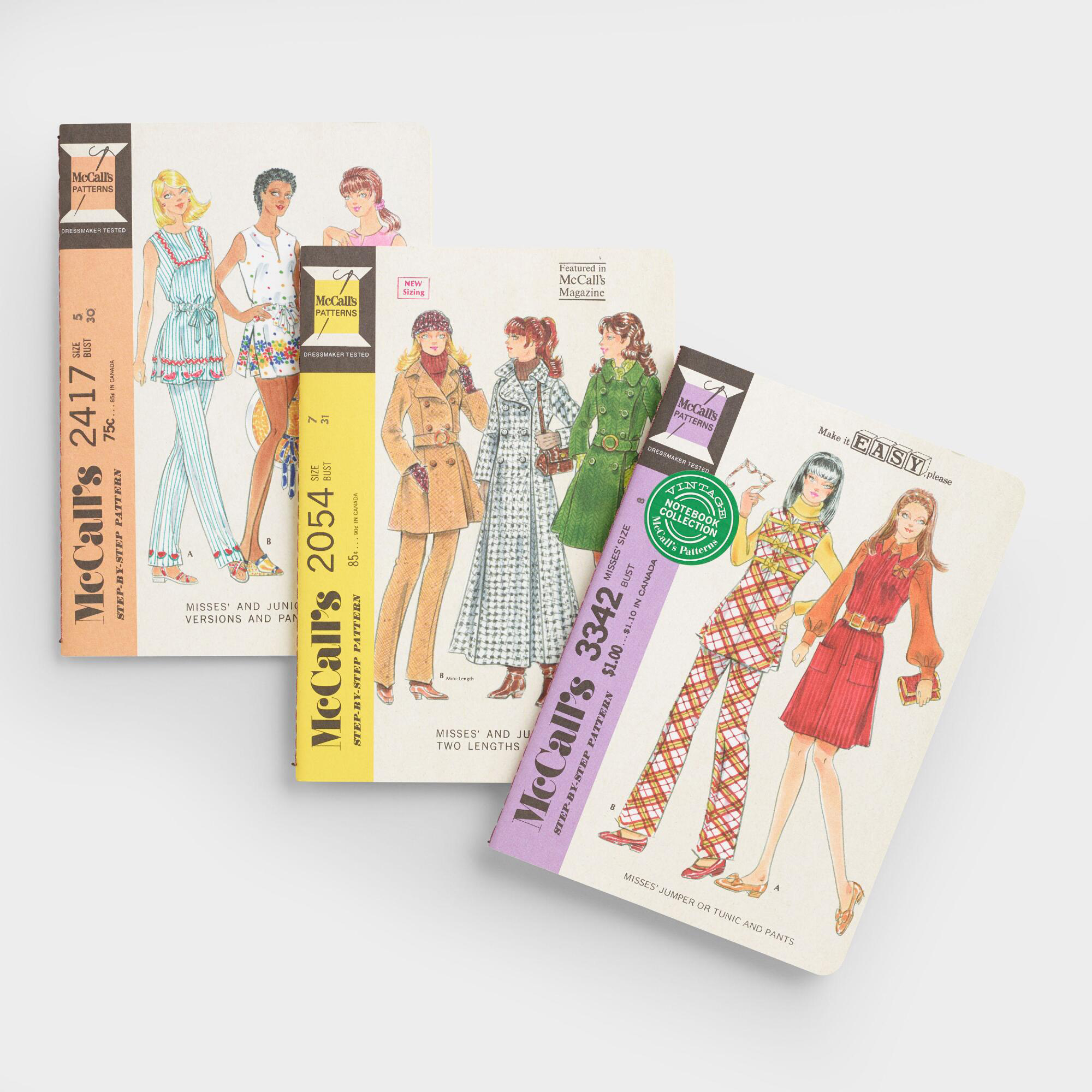Vintage McCall's Patterns Notebooks