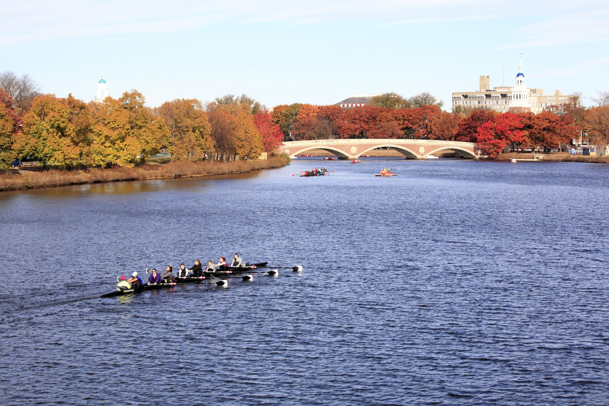 Rowing on the Charles River