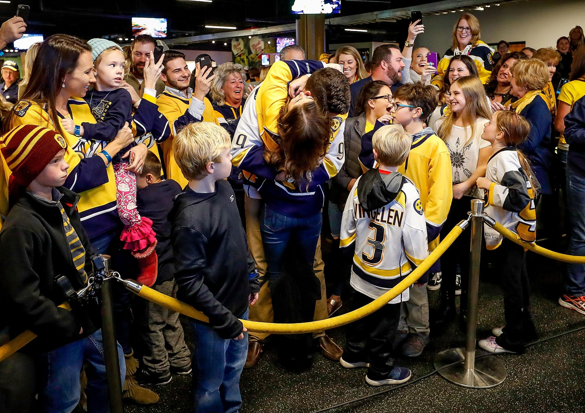 Nashville Predators Surprise Proposal