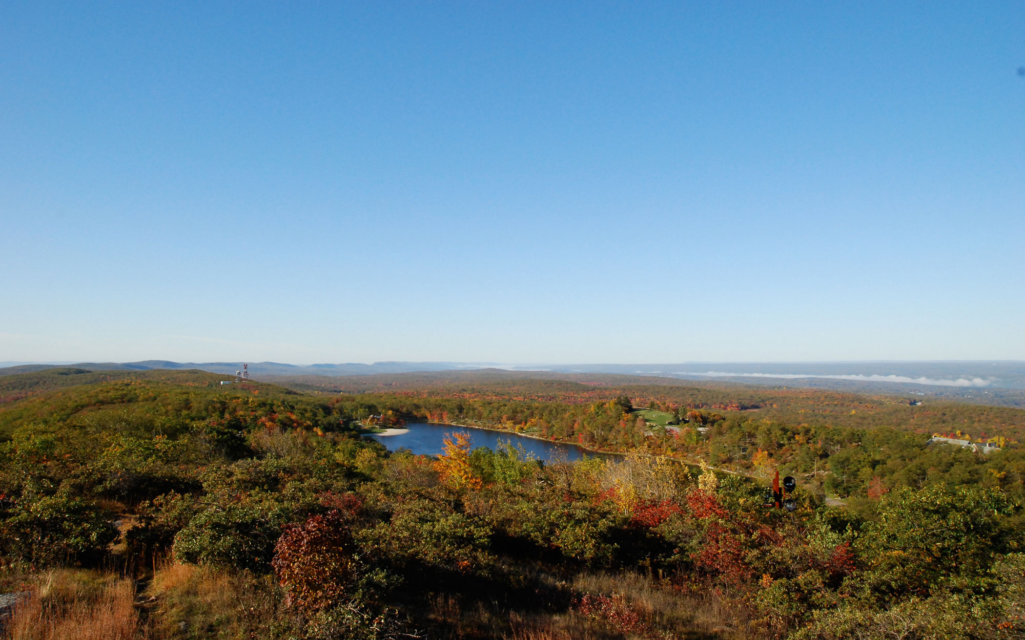 New Jersey from High Point Monument