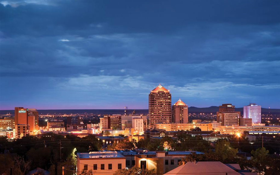 New Mexico from Apothecary Lounge, Hotel Parq Central