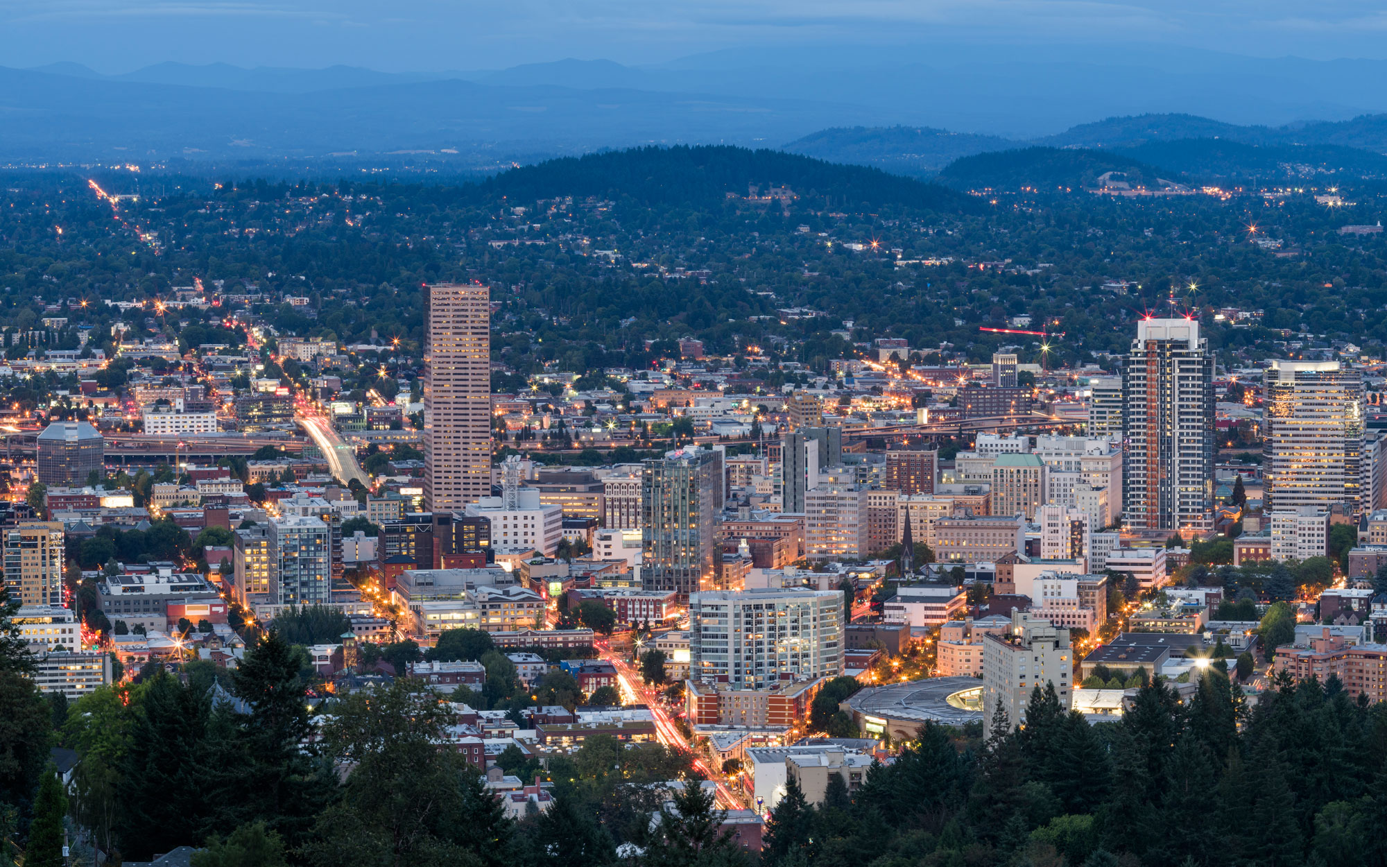 Oregon from Pittock Mansion