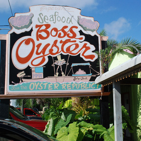 America's Best Oyster Bars: Boss Oyster; Apalachicola, FL