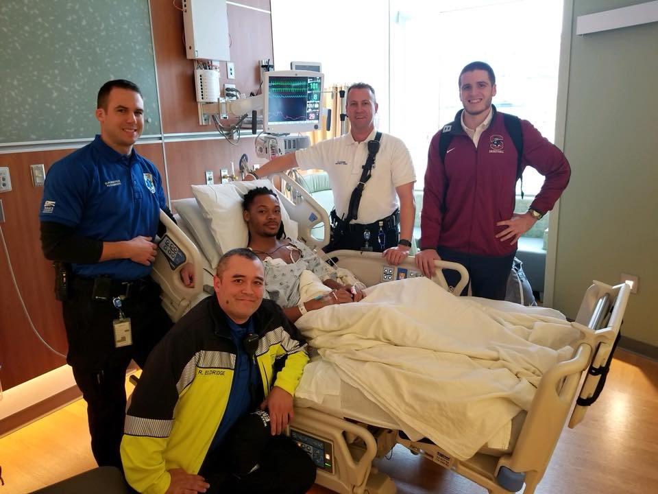 SC State Basketball Player in Hospital
