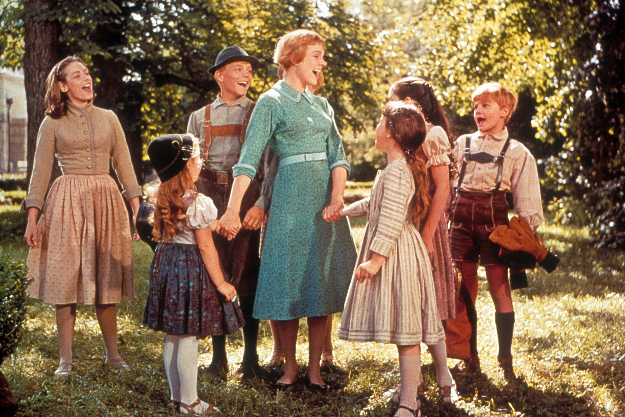 The Sound of Music's von Trapp kids