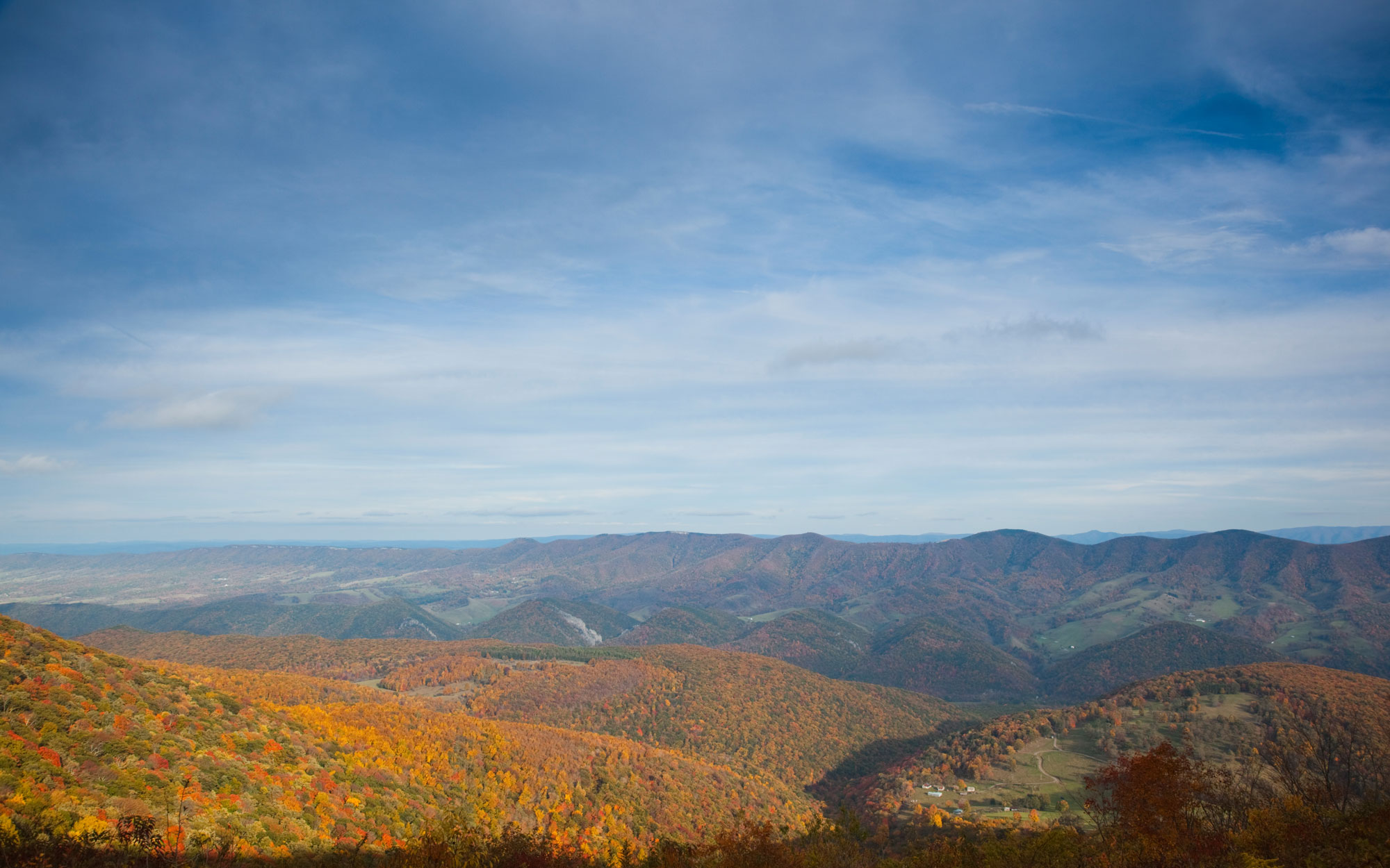 West Virginia from Spruce Knob