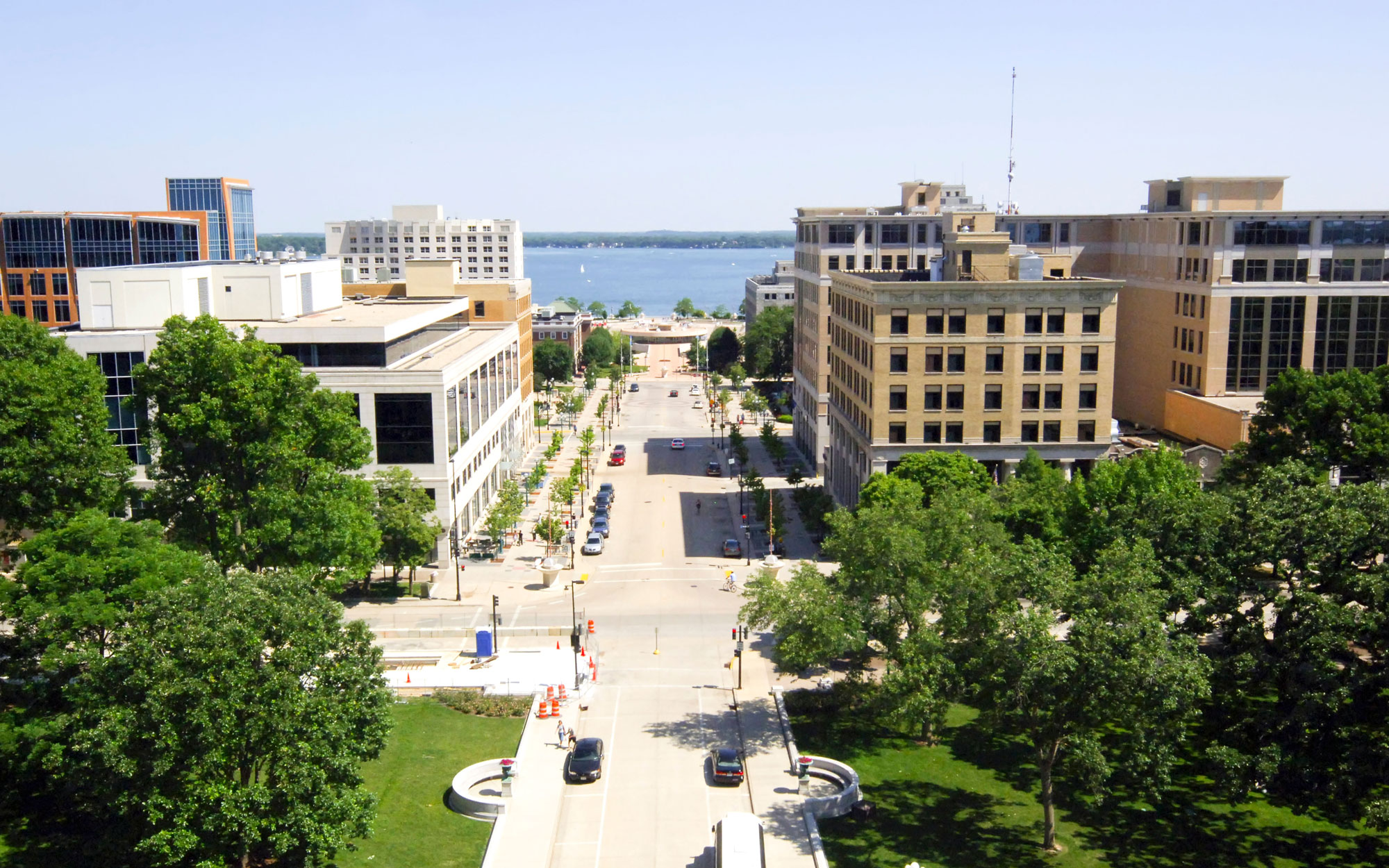 Wisconsin from the Wisconsin State Capitol Observation Deck