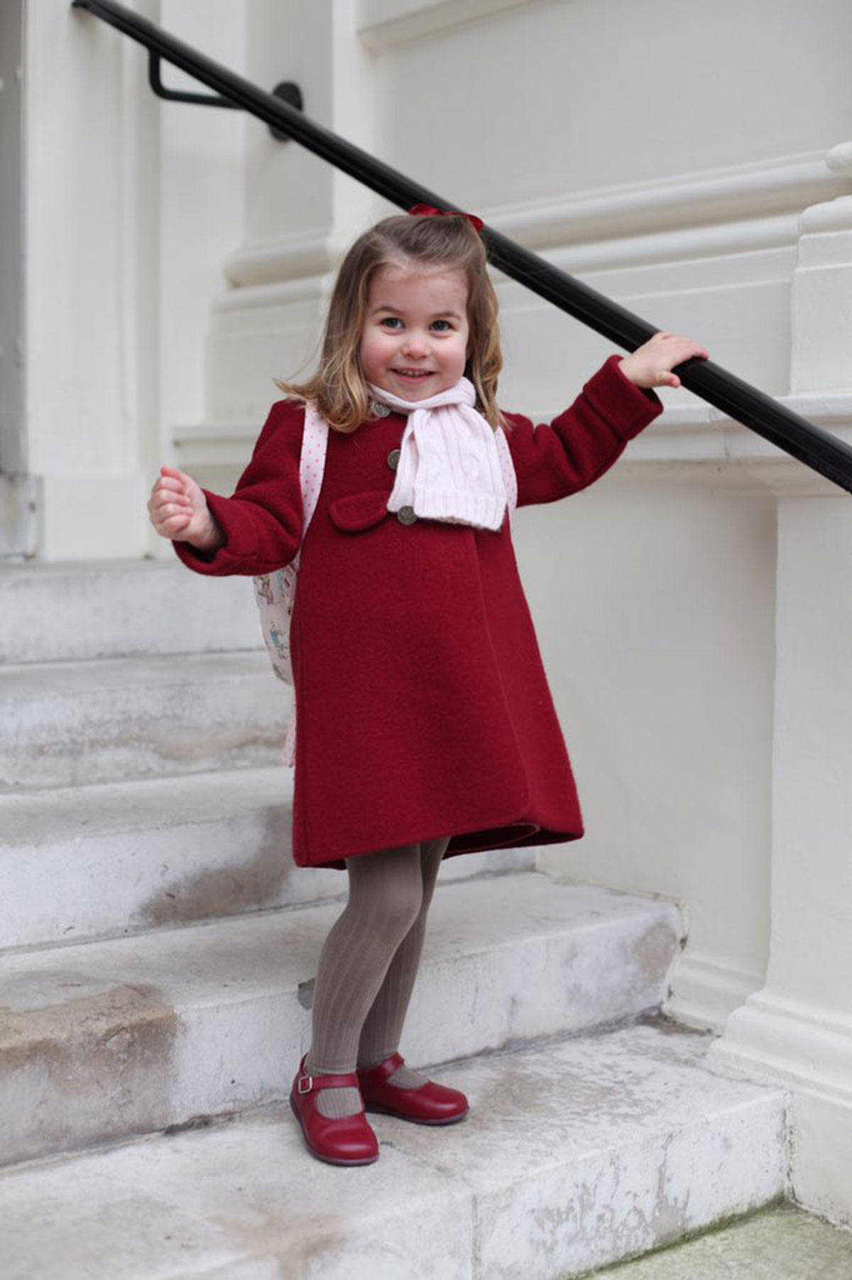 Princess Charlotte Is Off to Her First Day of Nursery School, and Kate Middleton Took Pictures