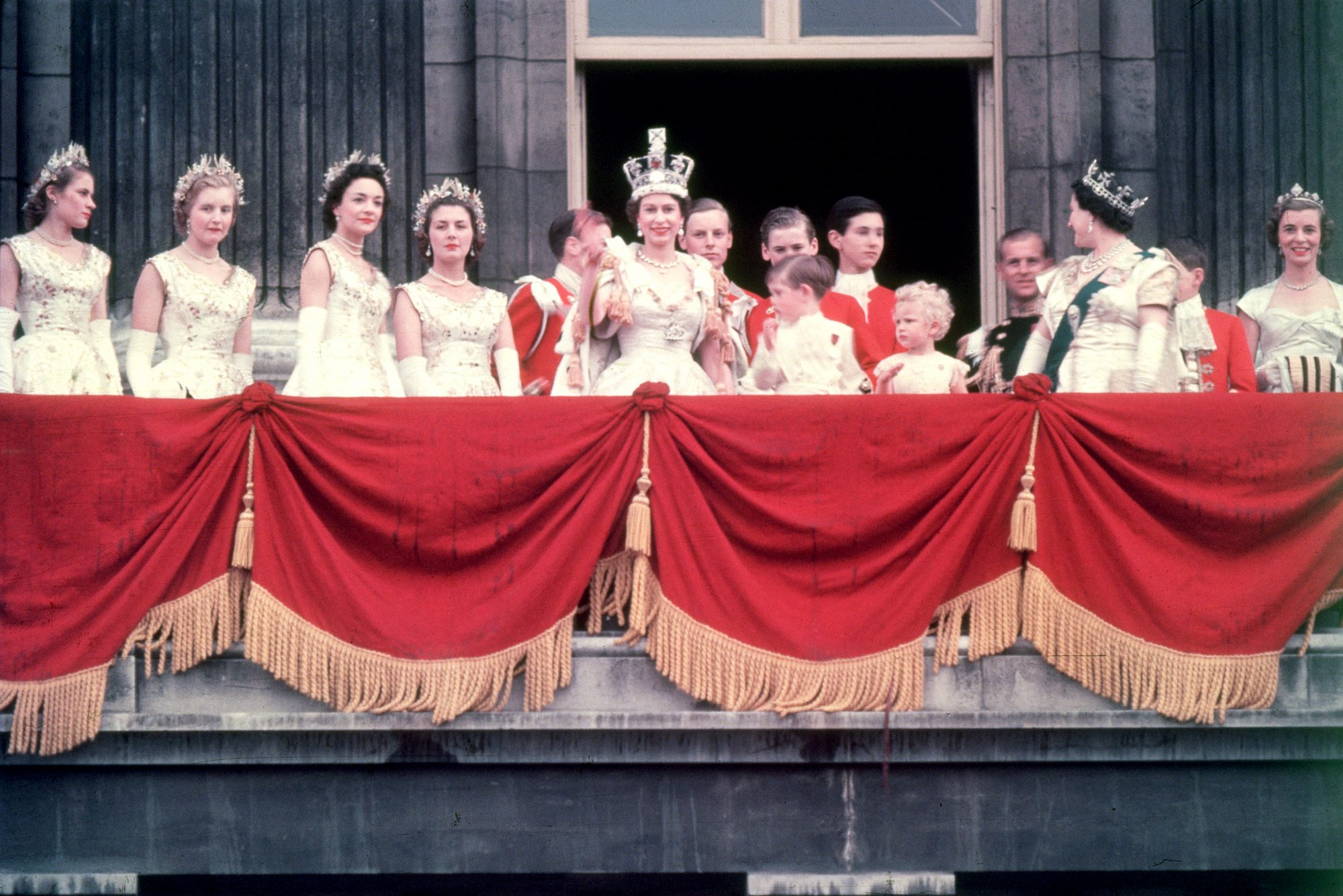 Maid of Honor Queen Elizabeth Coronation