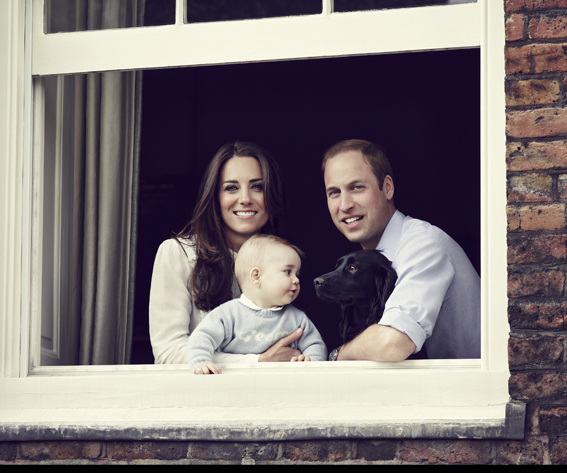 Prince George Looks at Lupo
