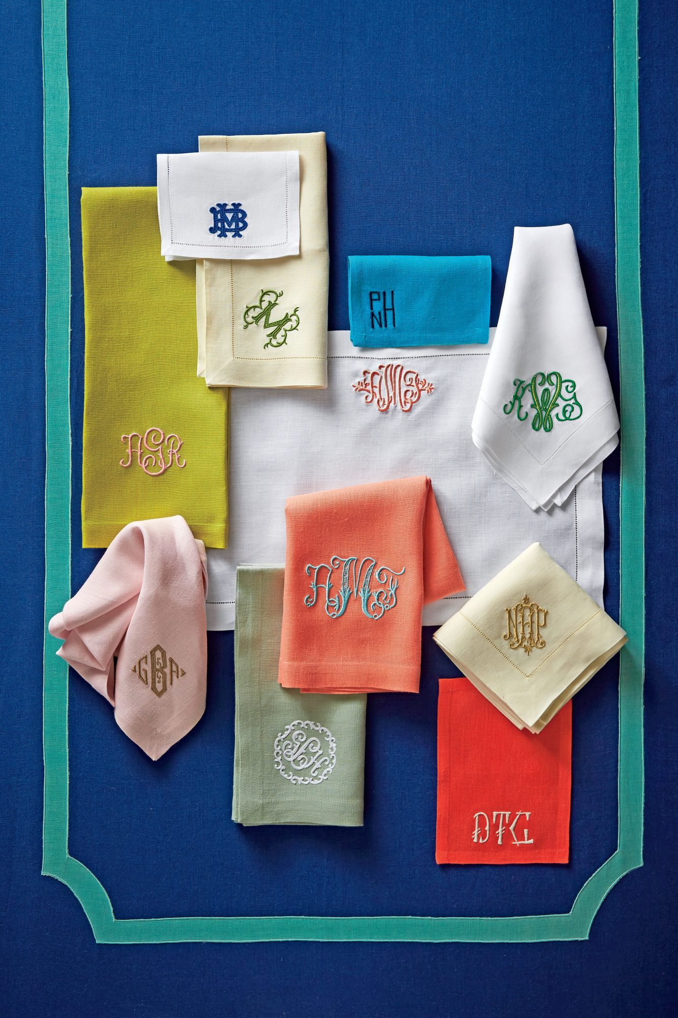 Cocktail Napkin Monogram