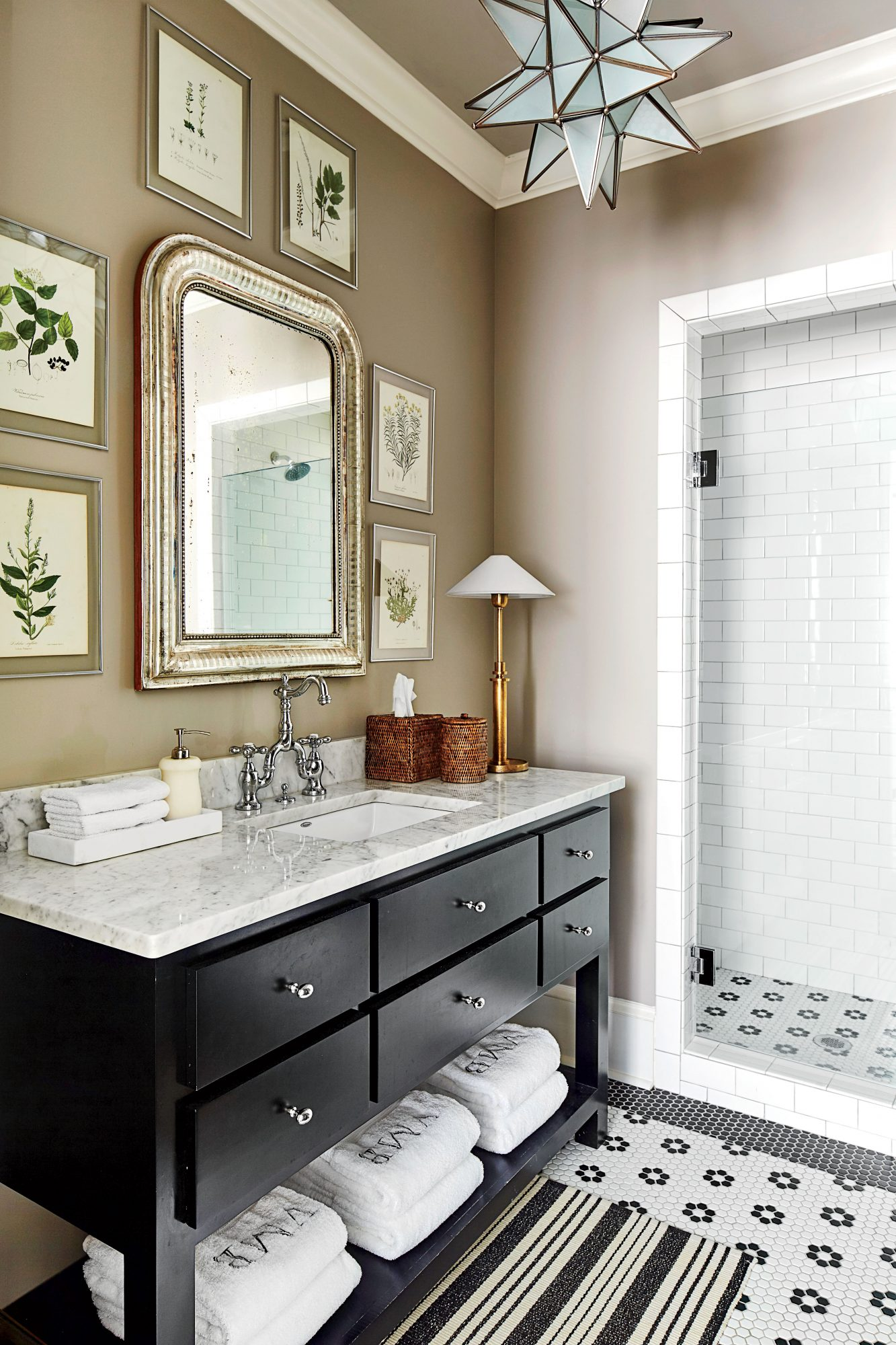 Turnball Park House Plan Guest Bathroom