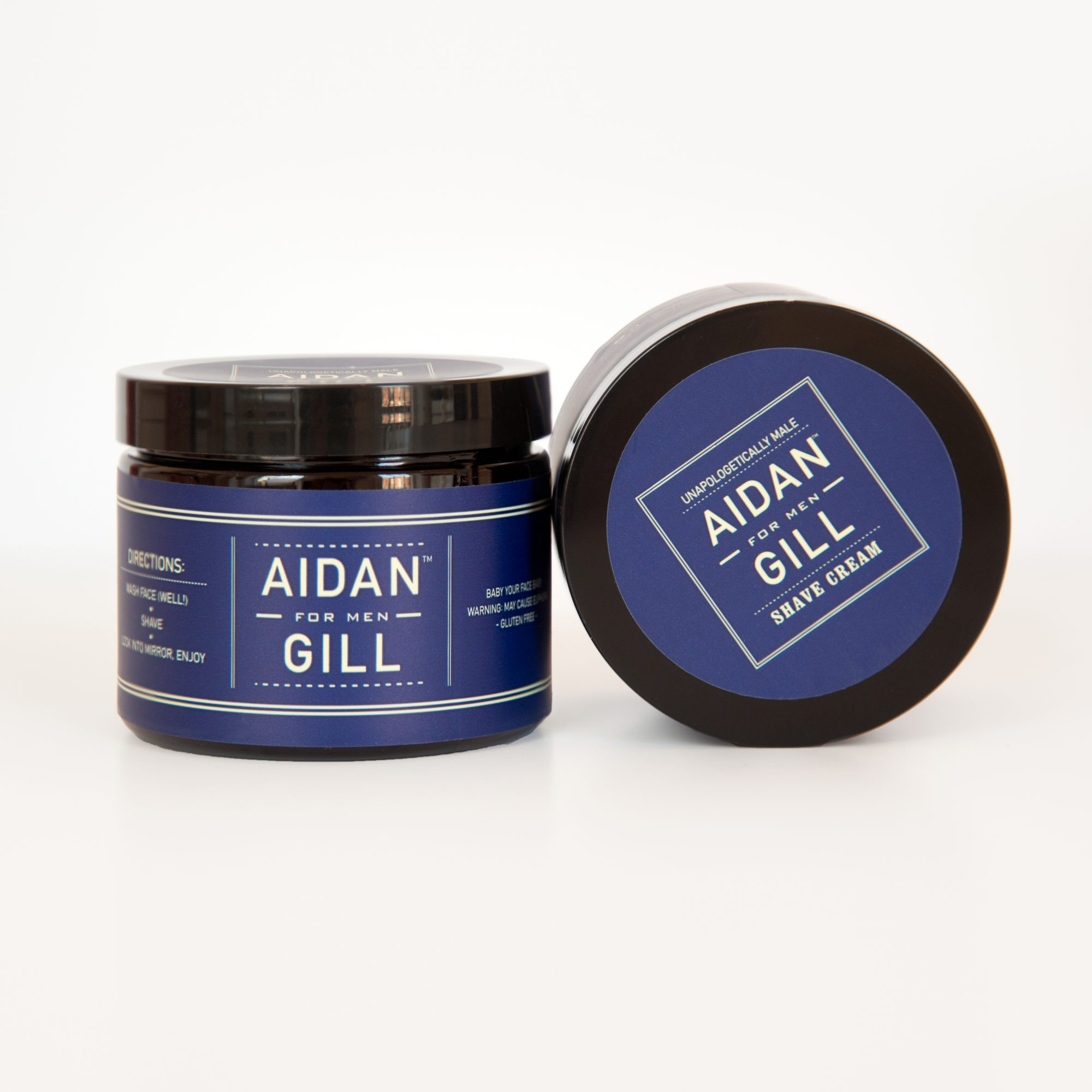 Aidan Gill for Men Sandalwood Shave Cream