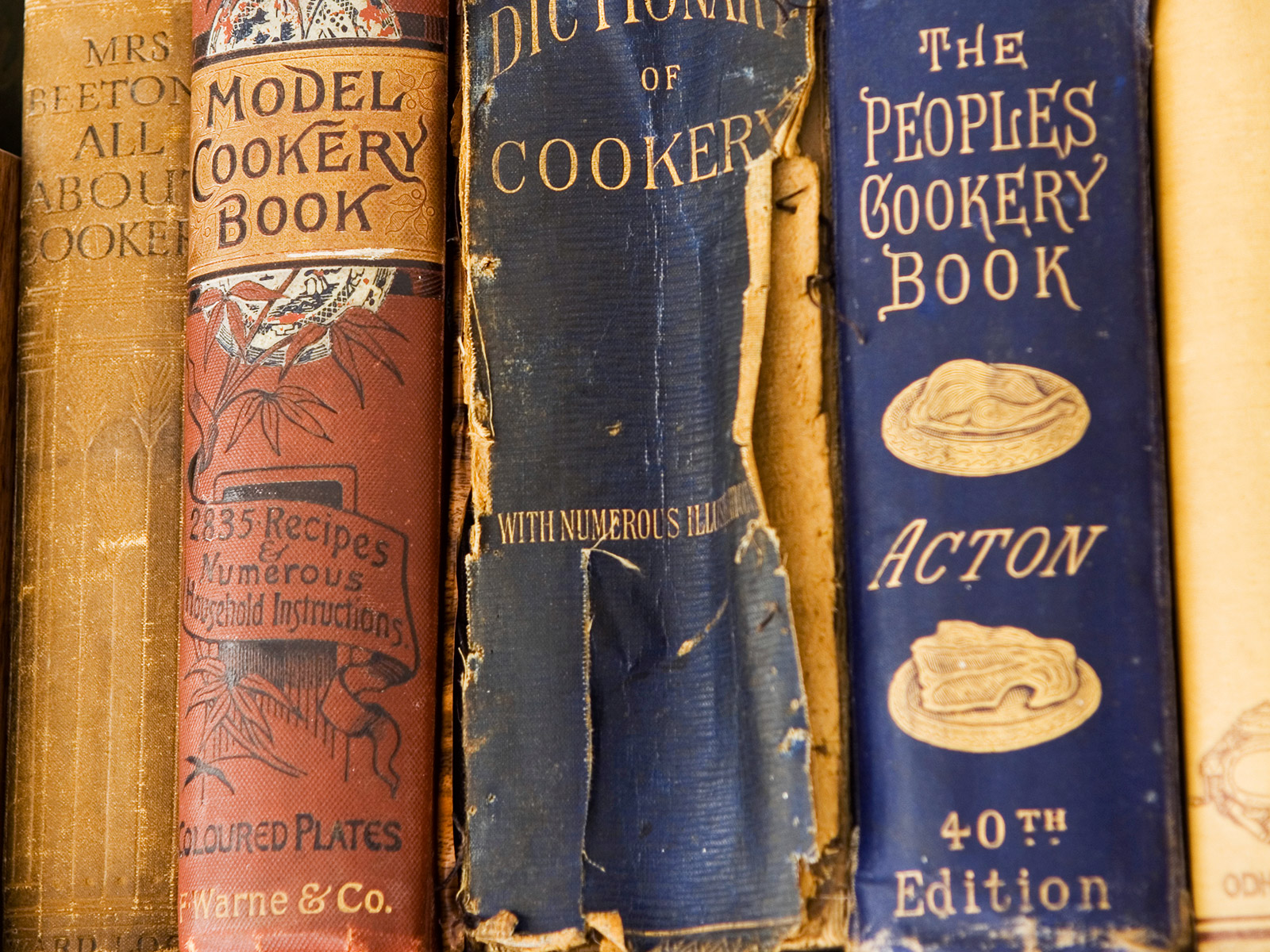 antique cookbook