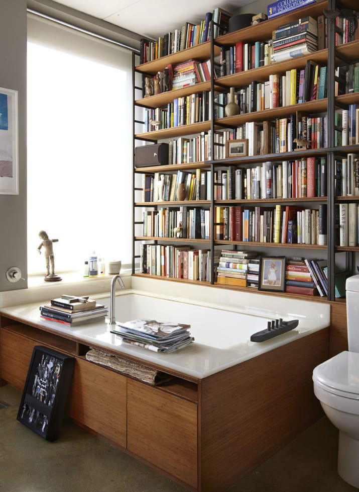 Bookworm Bathroom