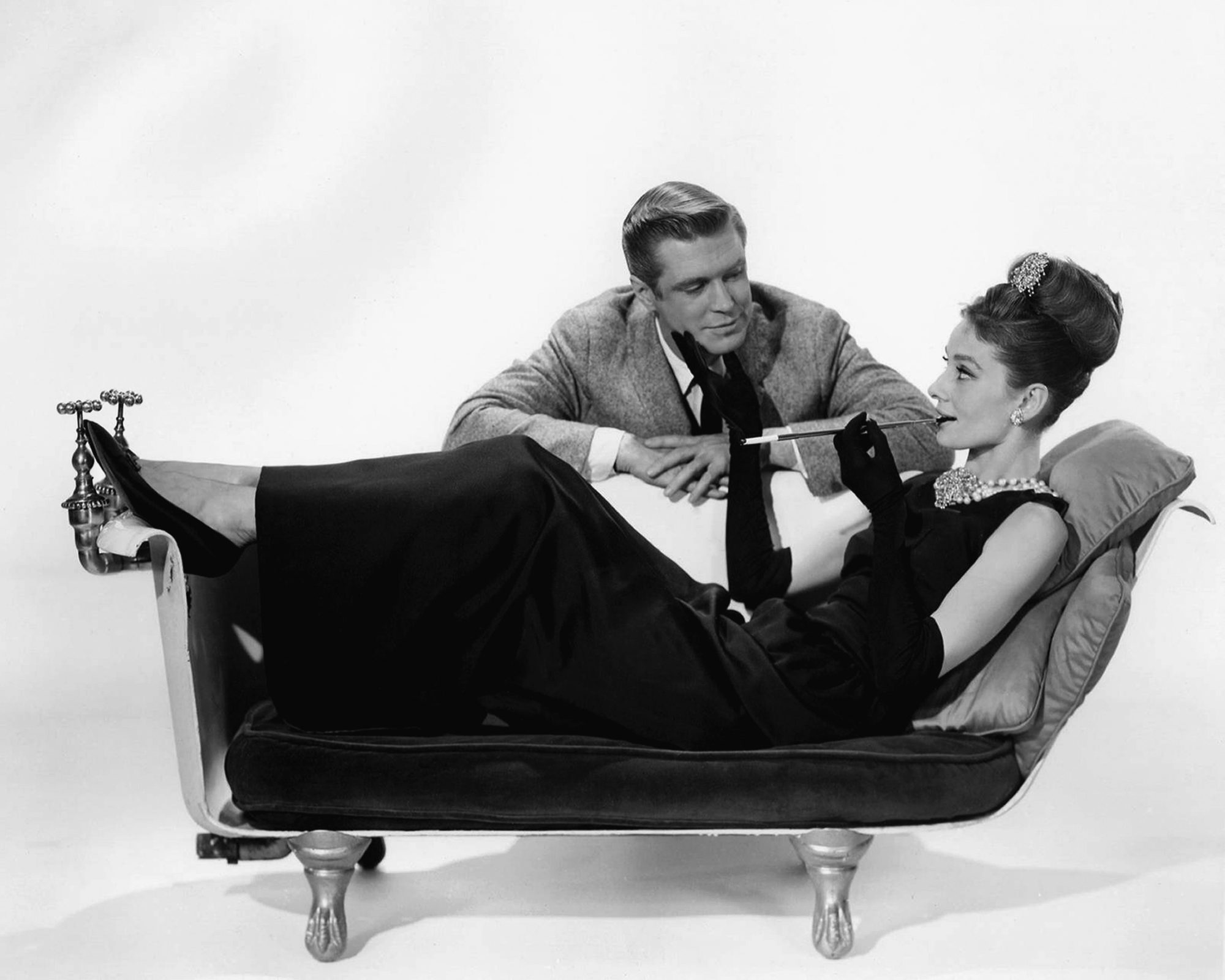 Breakfast at Tiffany's with Holly Golightly and Paul Varjak