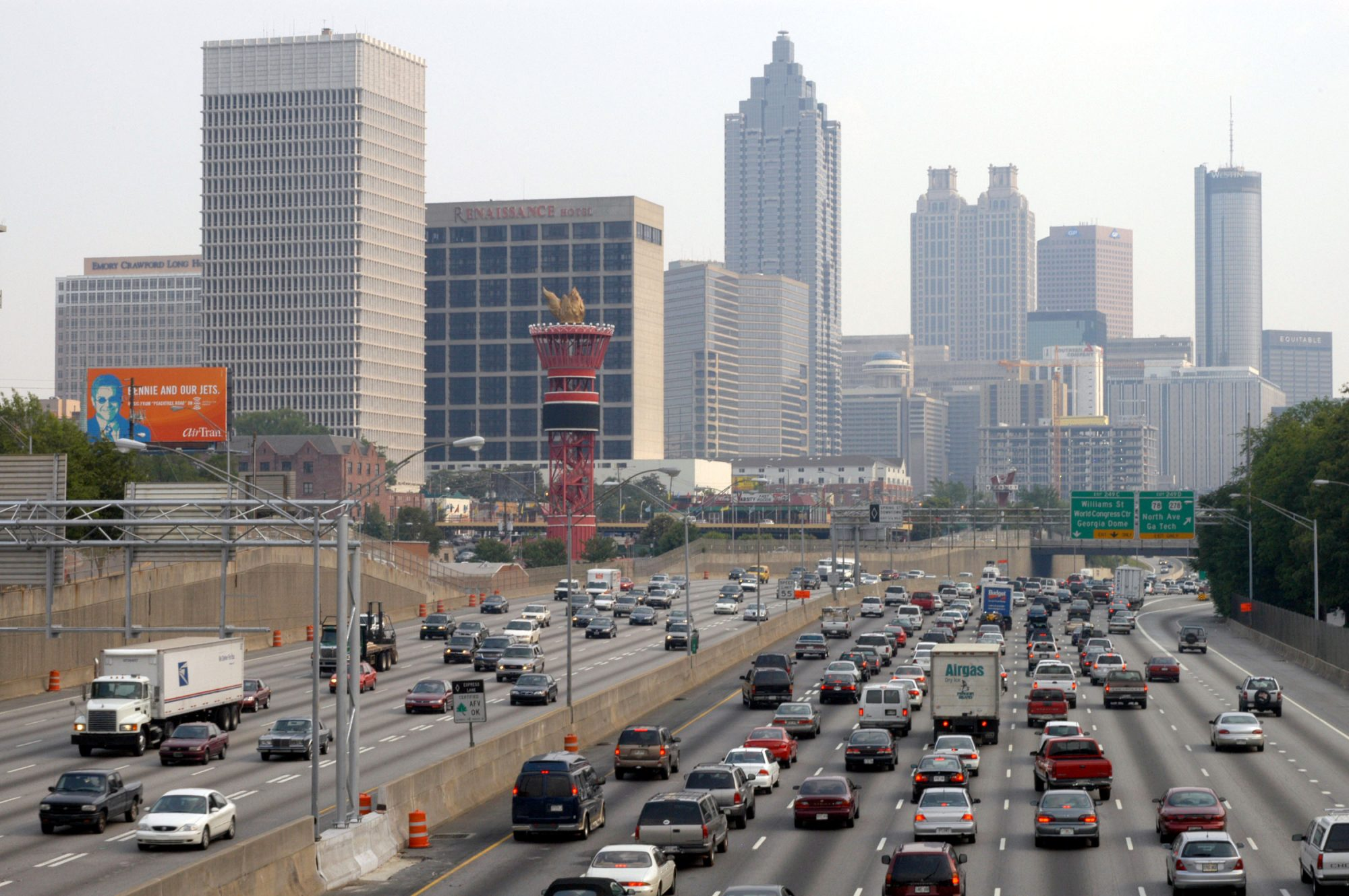 Atlanta Losing Traffic Gridlock Battle, Study Reports