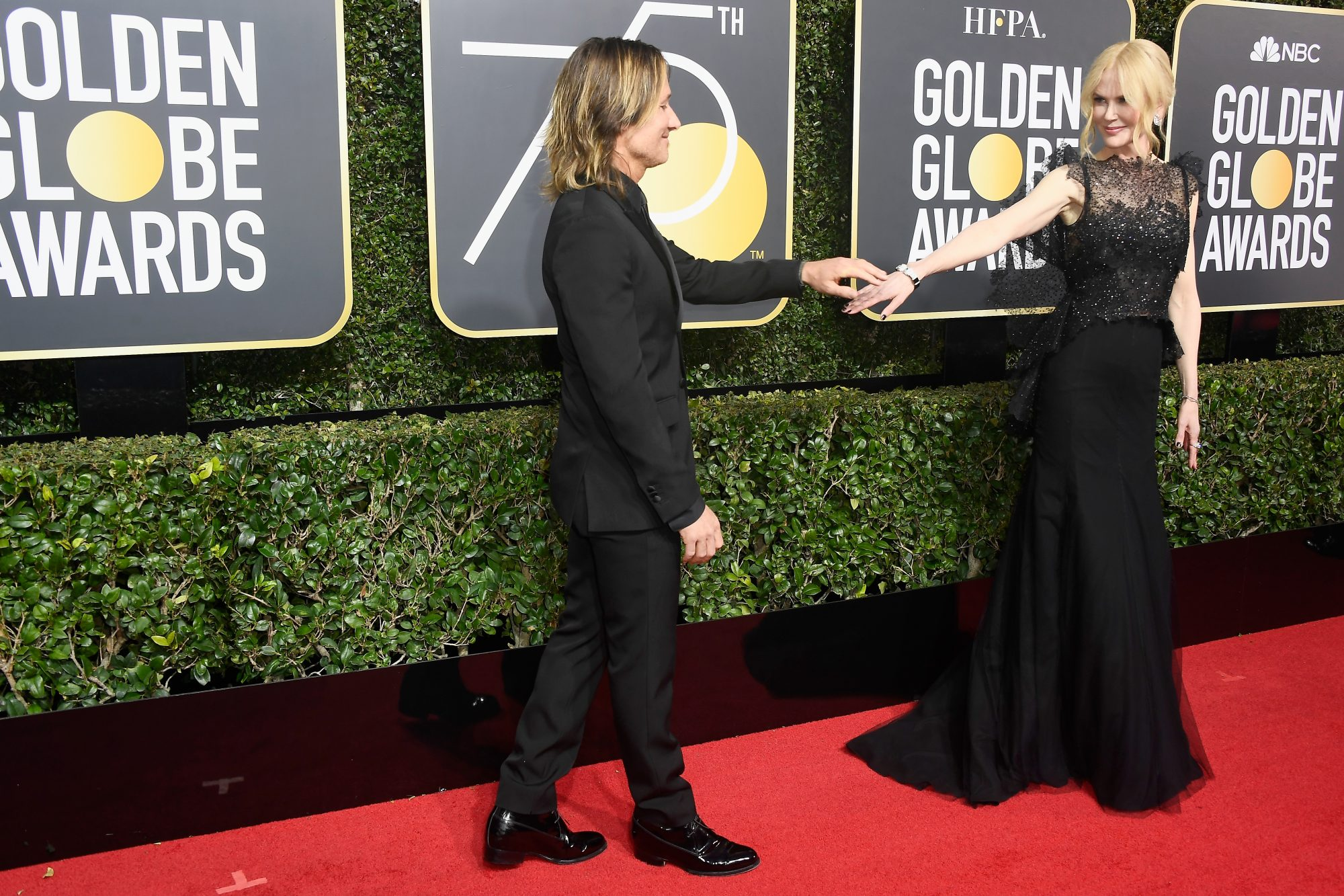 Nicole Kidman and Keith Urban Golden Globes