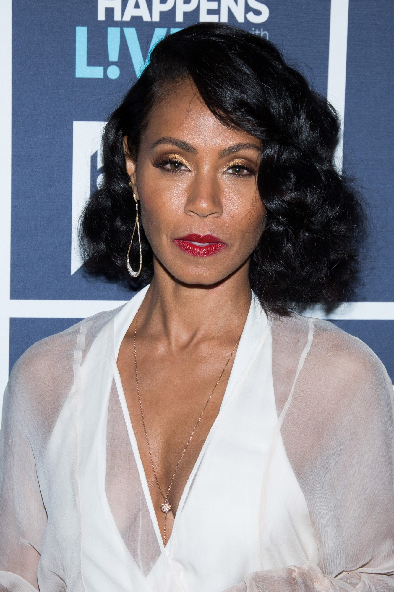 Jada Pinkett Smith's Retro Curls