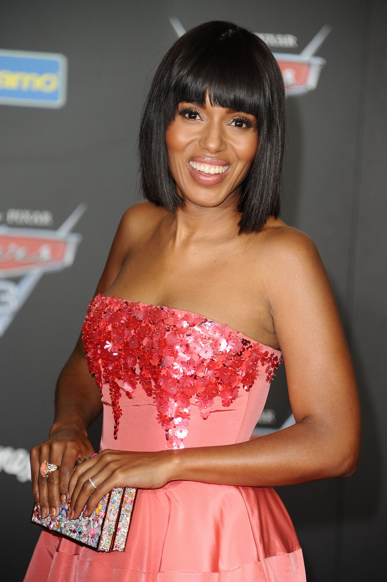 Kerry Washington's Straight-Across Bangs