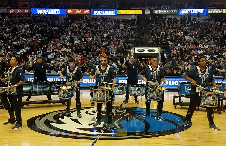 Dallas Mavericks' Drumline