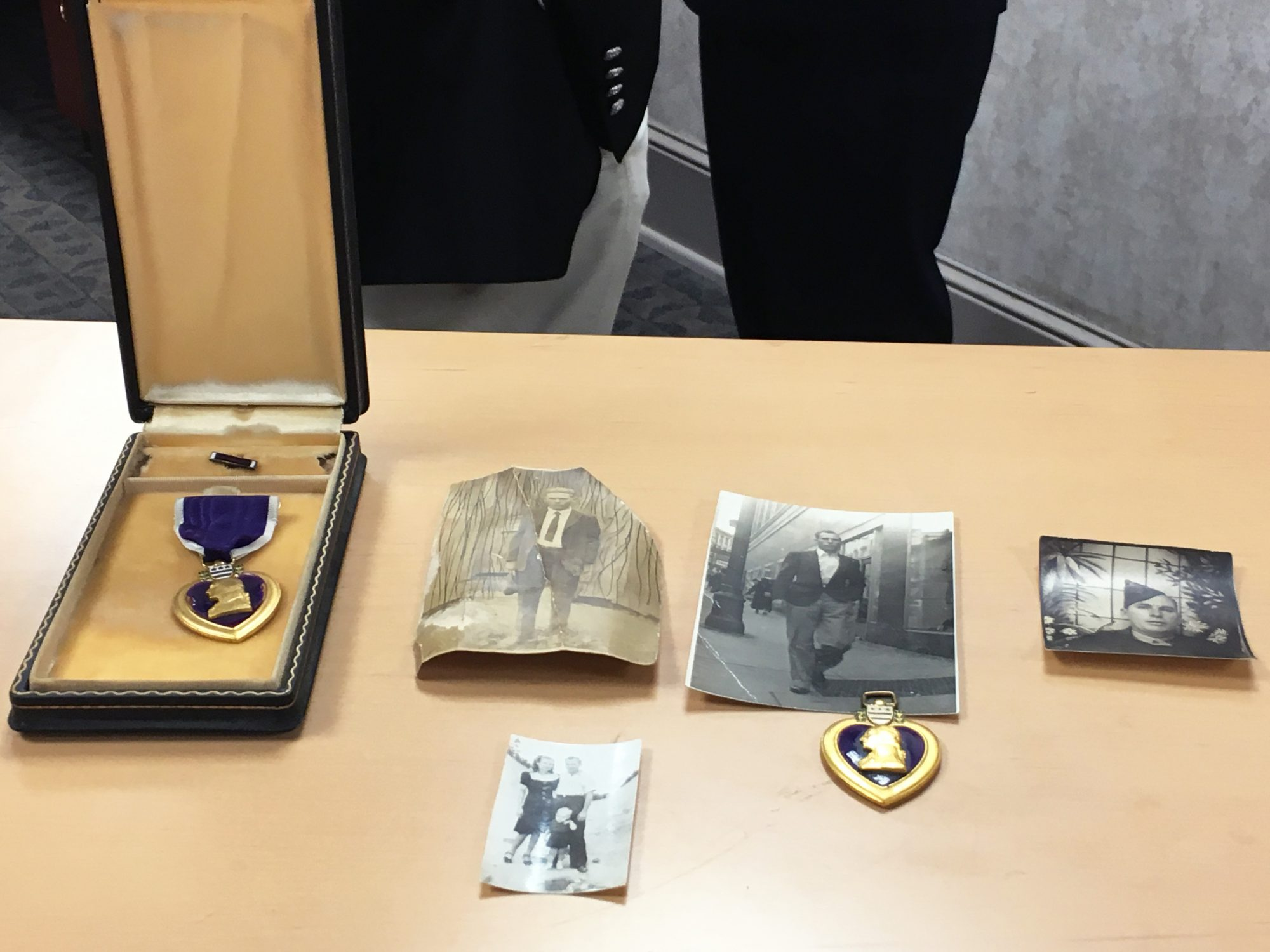 Claude Parris Military Honors and Medals
