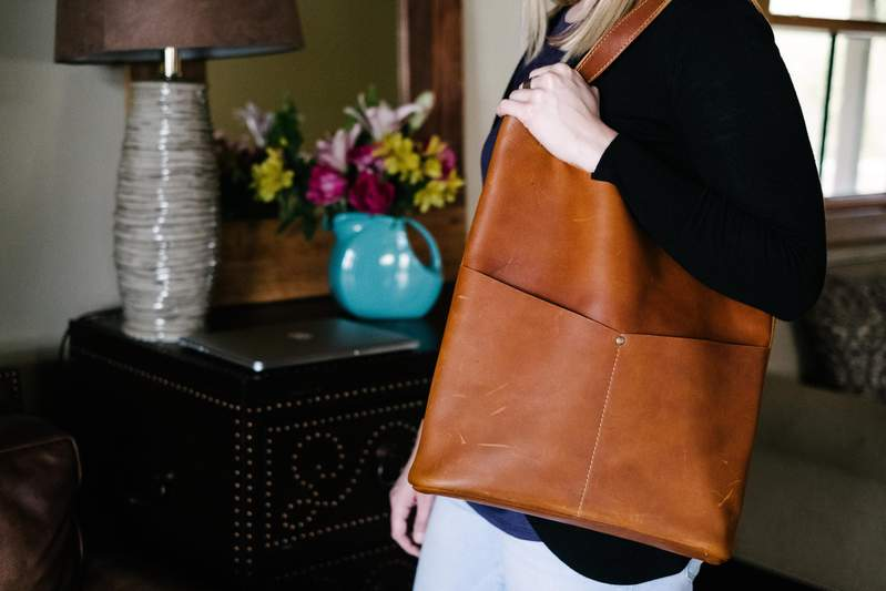 Pioneer Woman Leather Tote