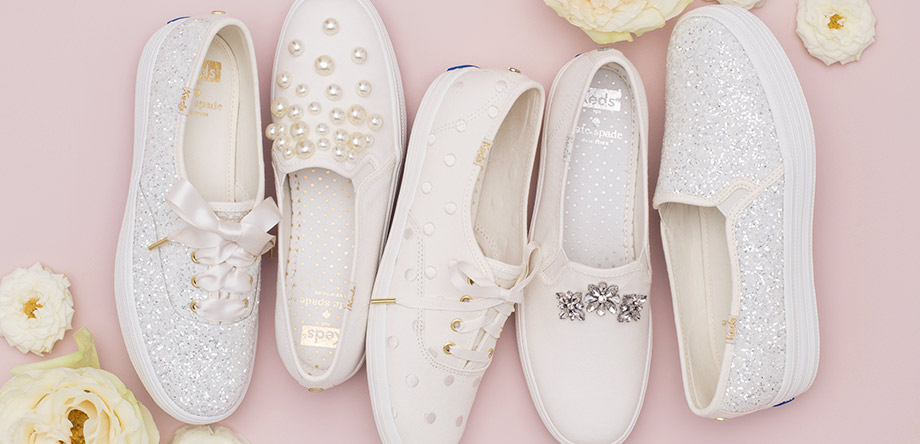 Keds and Kate Spade Wedding Shoes