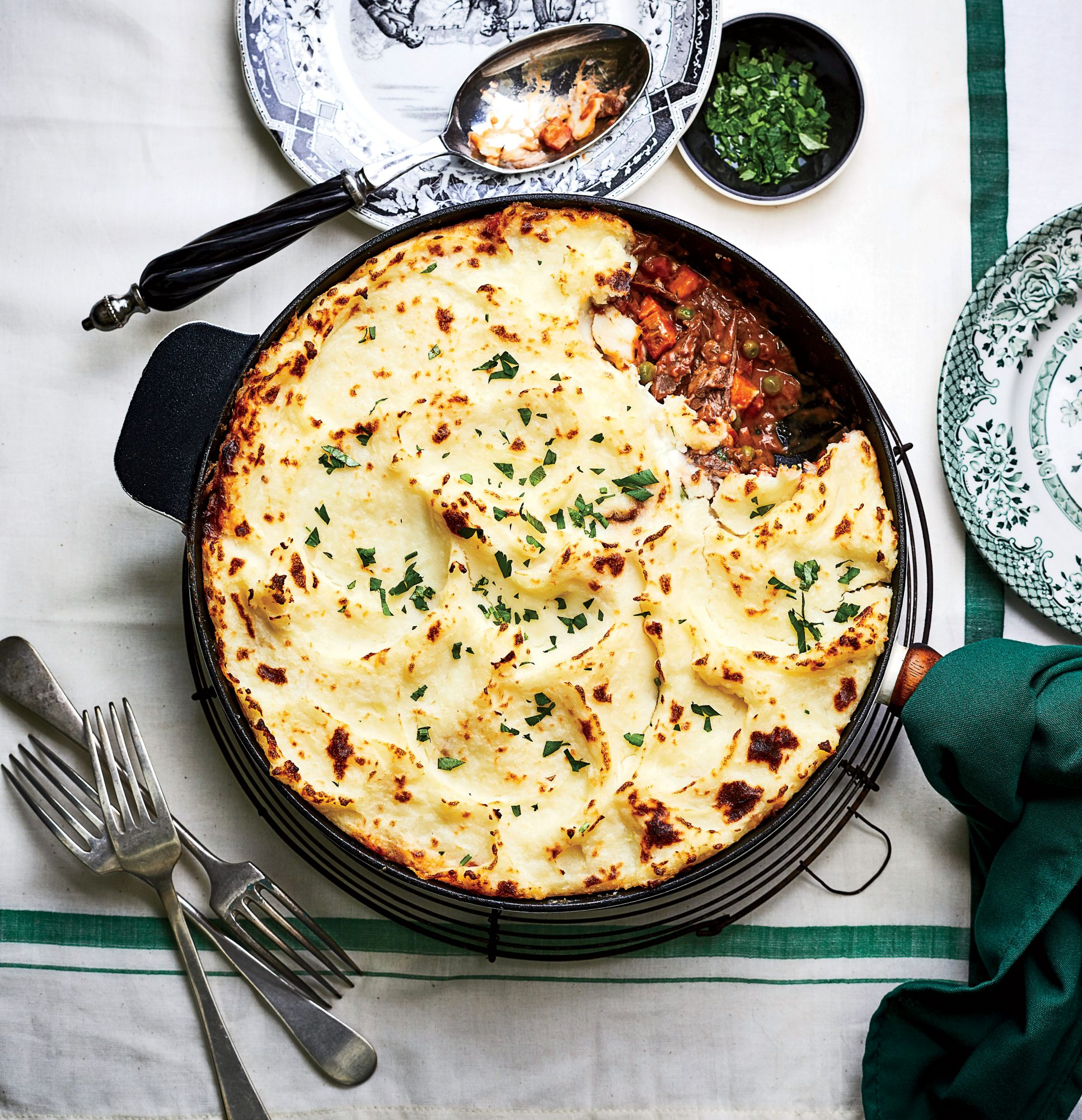 Shepherd's Pie with Braised Lamb