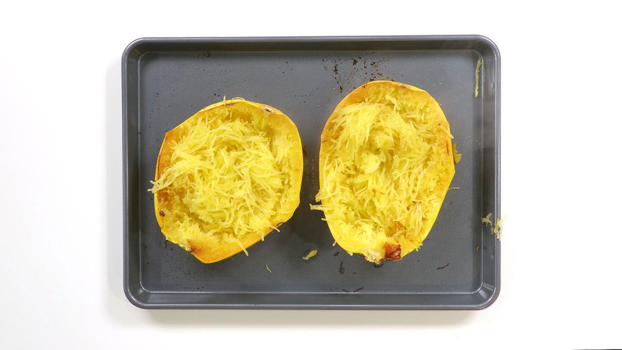 Real Simple Spaghetti Squash Still