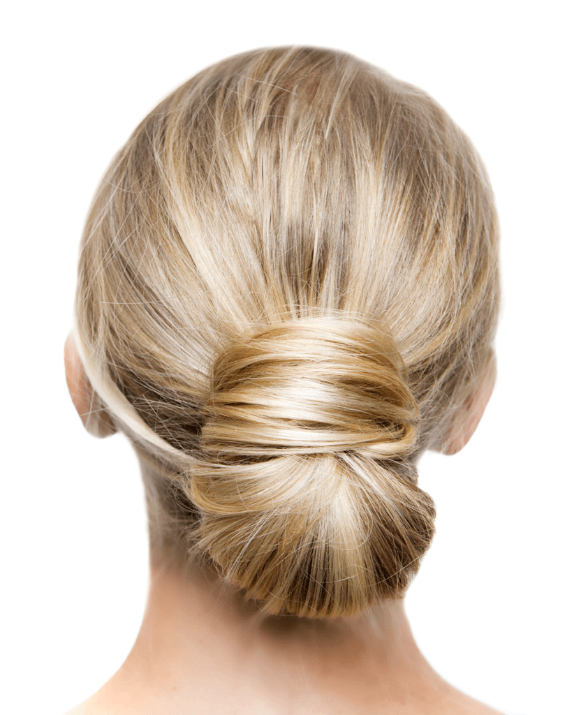 The Perfect Low Bun