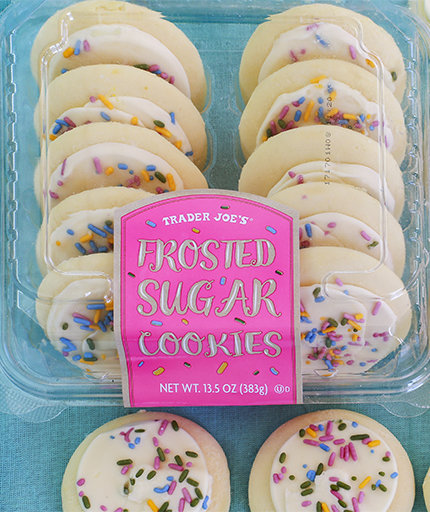 Trader Joe's New Soft Frosted Sugar Cookies Will Make You Nostalgic