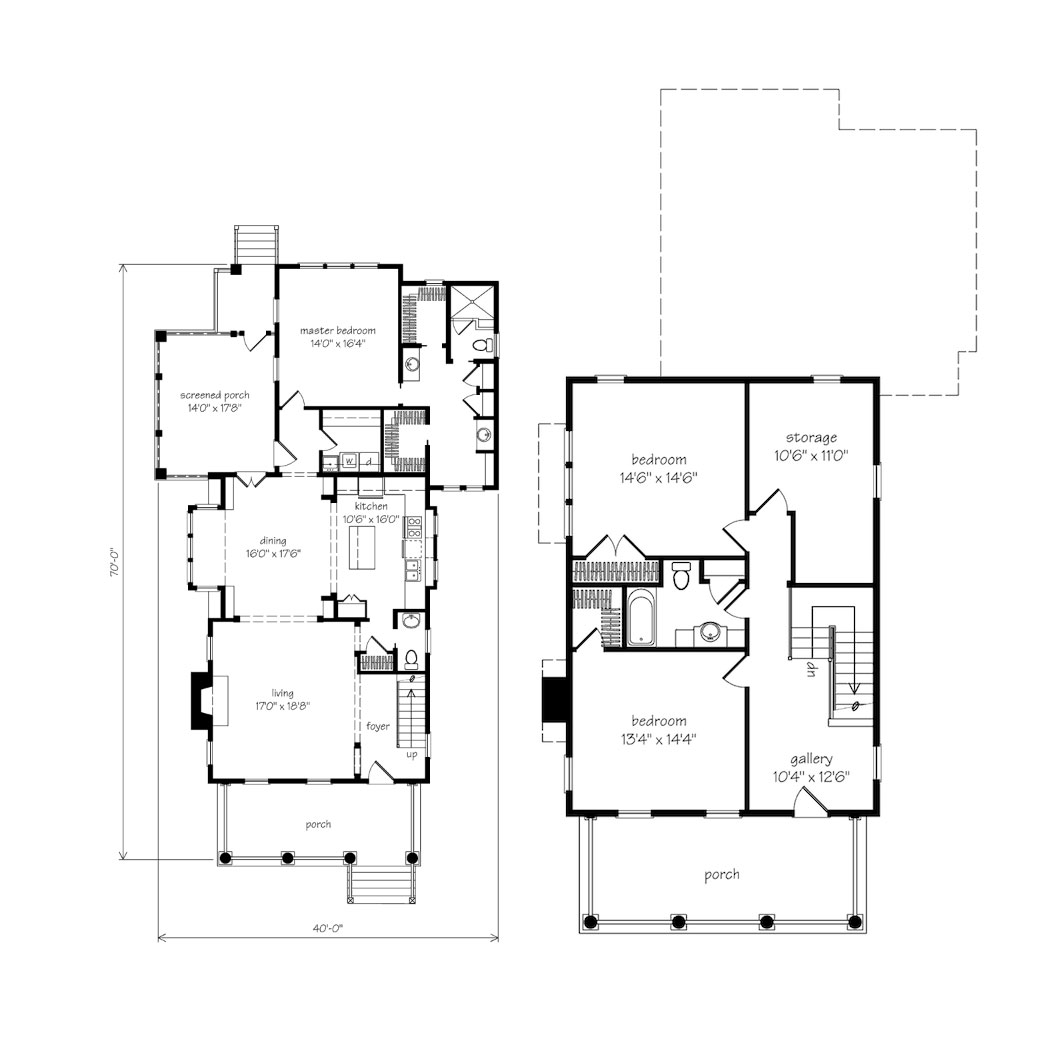 Turnball Park House Plan Floor Plan