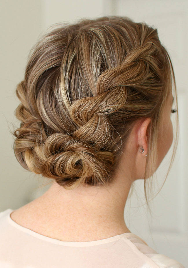 Double Twist Low Buns