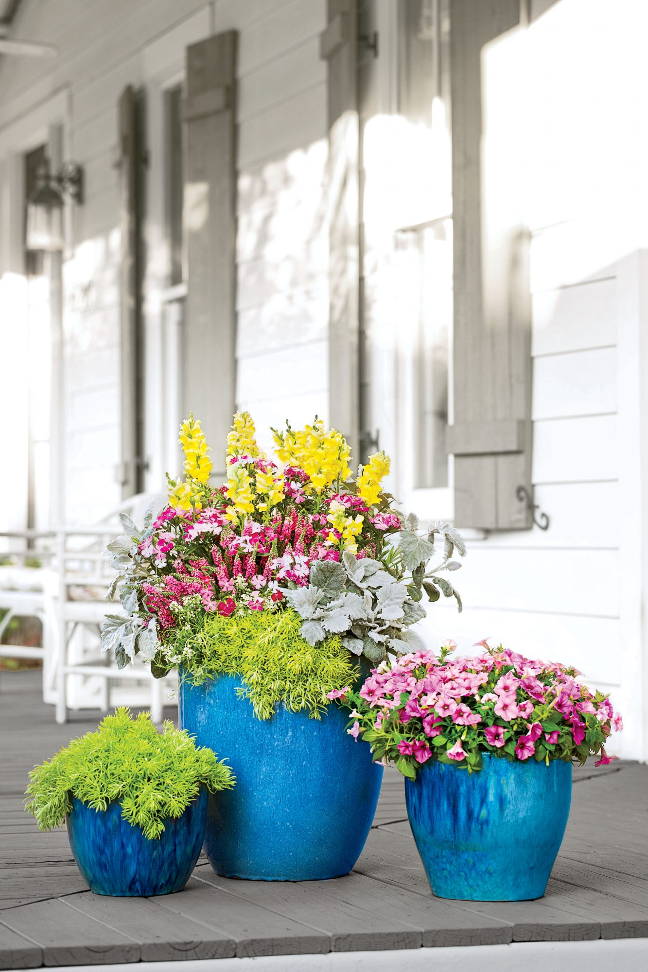 Color Burst Front Door Container