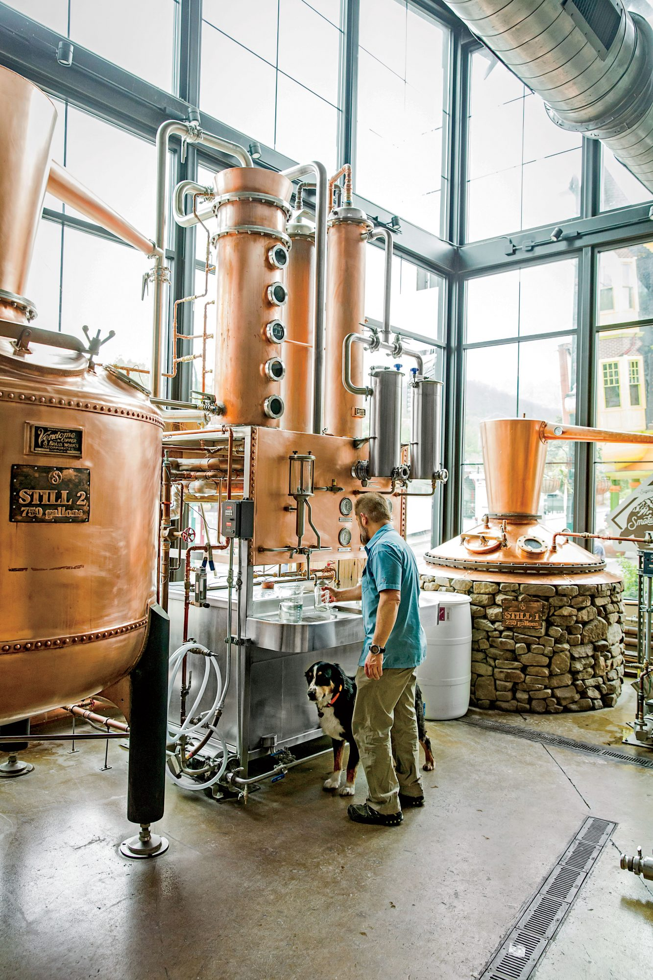 Sugarland Distilling Co. Head Distiller Greg Eidam II