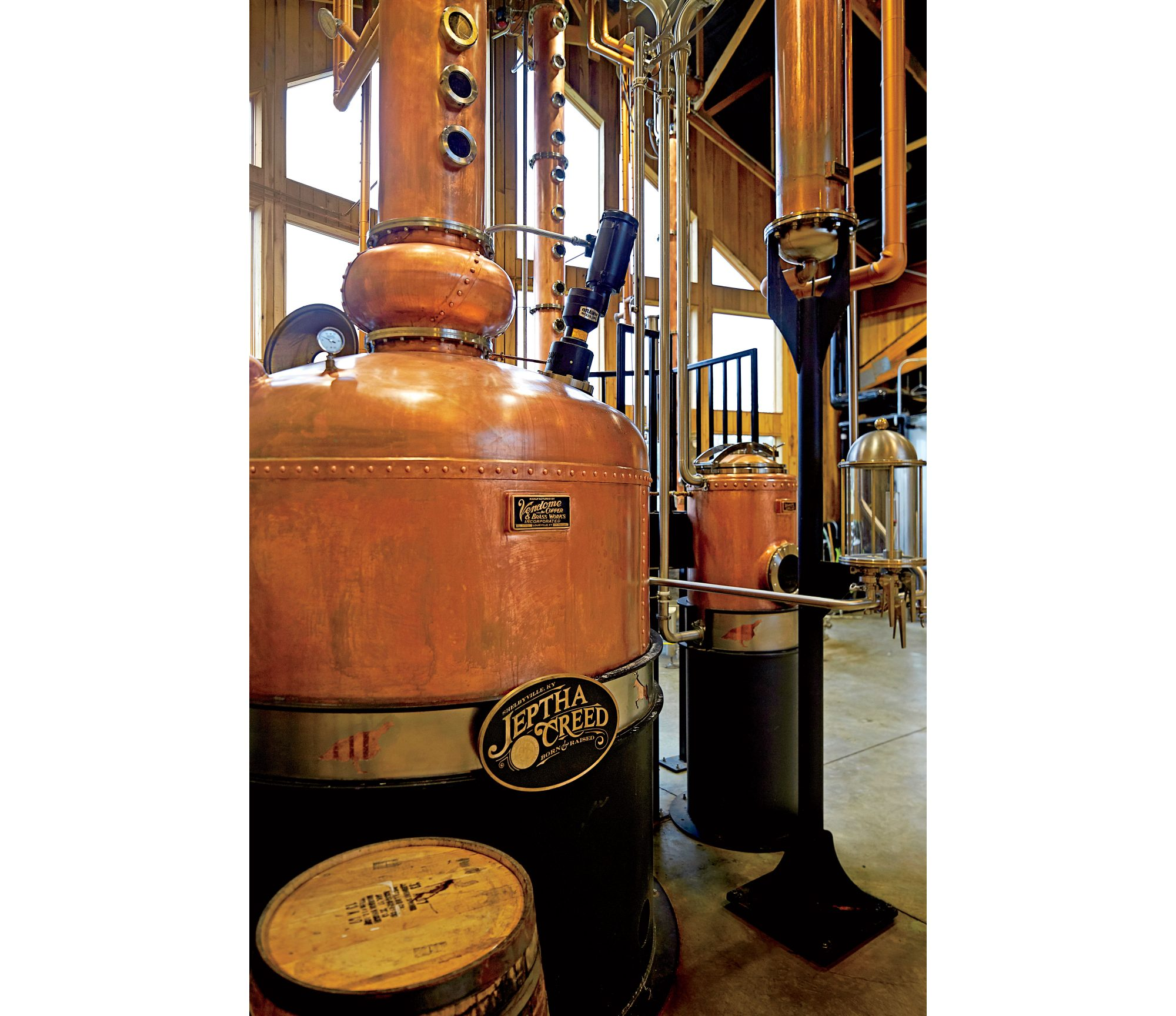 Jeptha Creed Bourbon Distillery