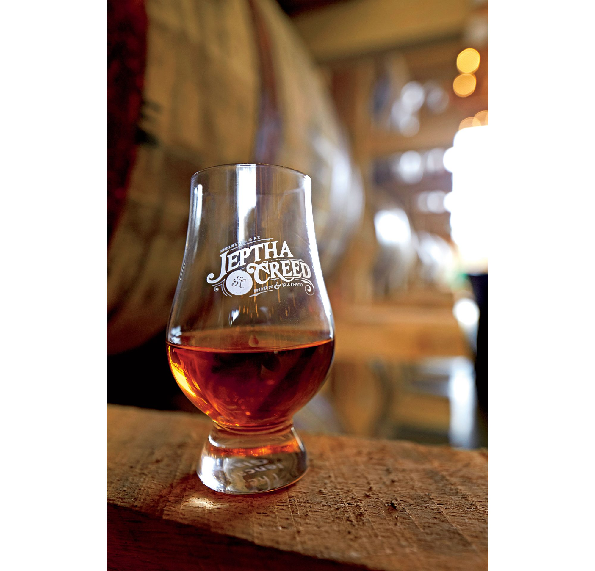 Jeptha Creed Bourbon Glass