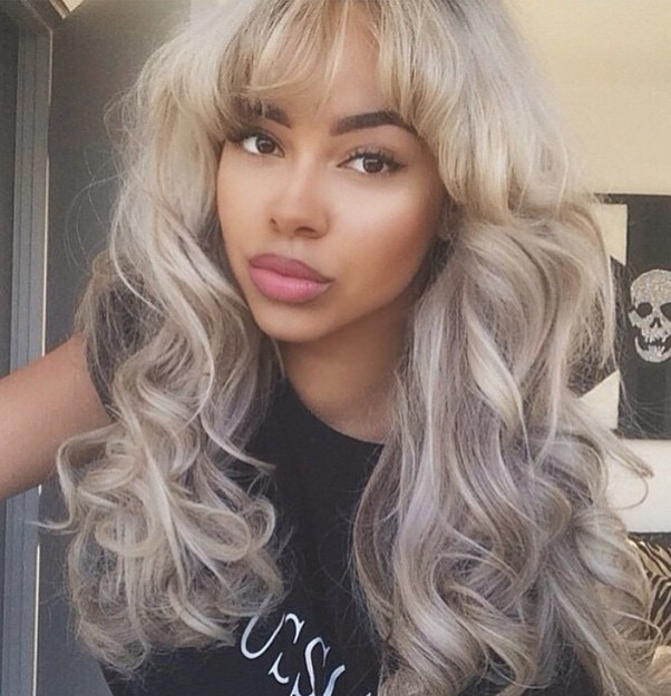 Ash Blonde with Gray Undertones