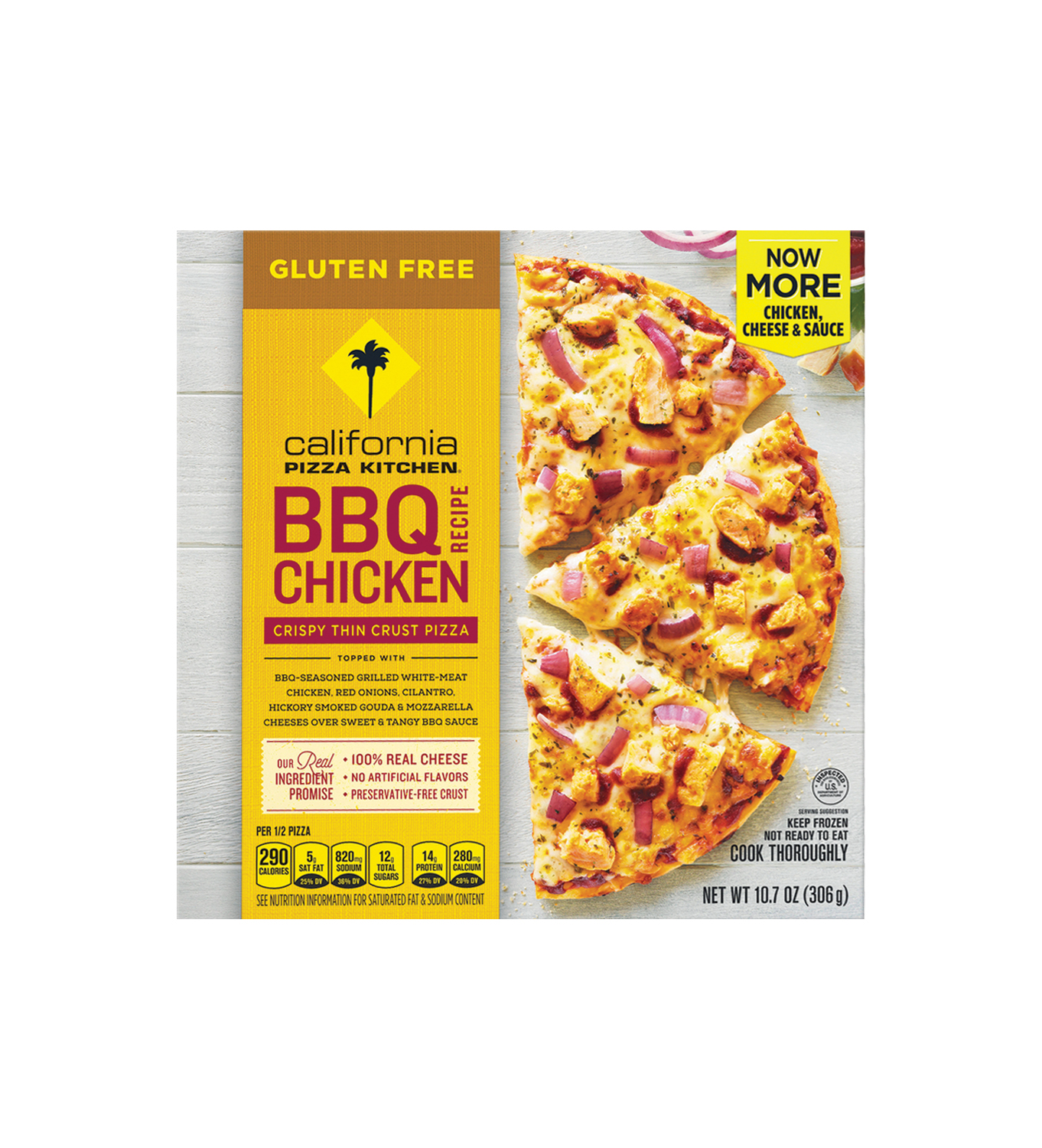 California Pizza Kitchen Gluten-Free BBQ Chicken