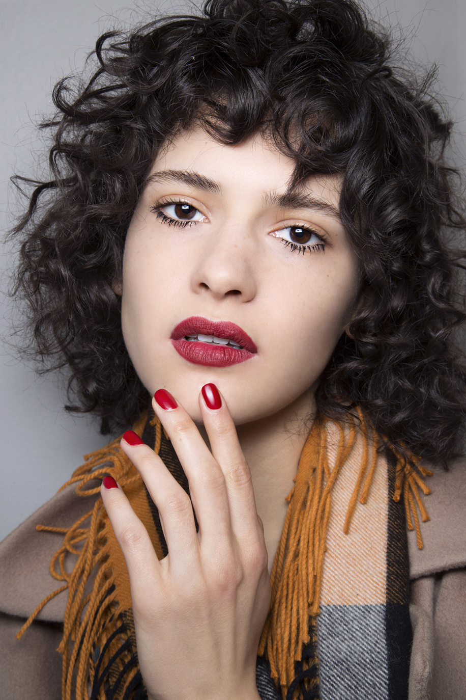 Bold Lips and Nails