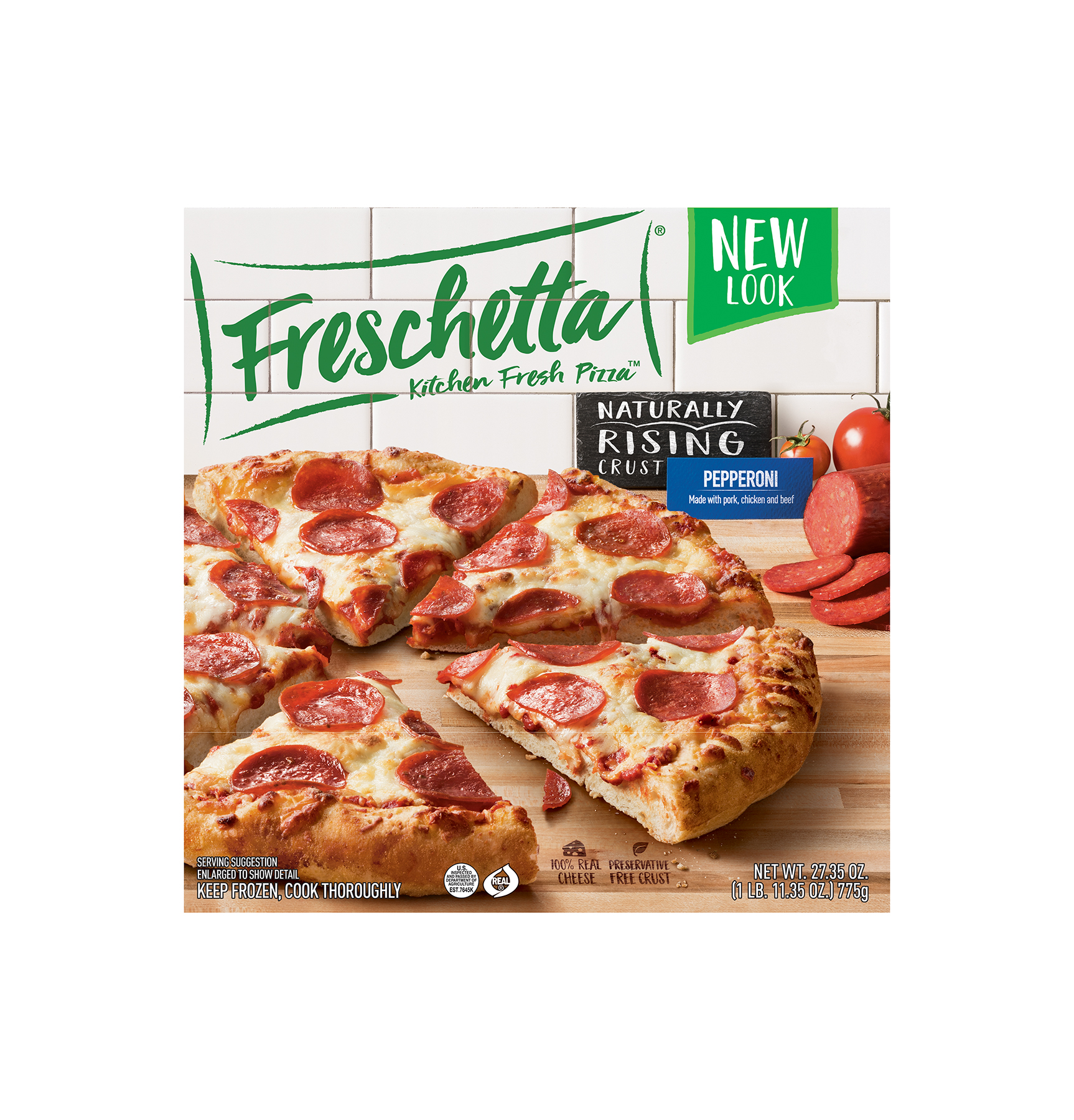 Freschetta Naturally Rising Crust Pepperoni