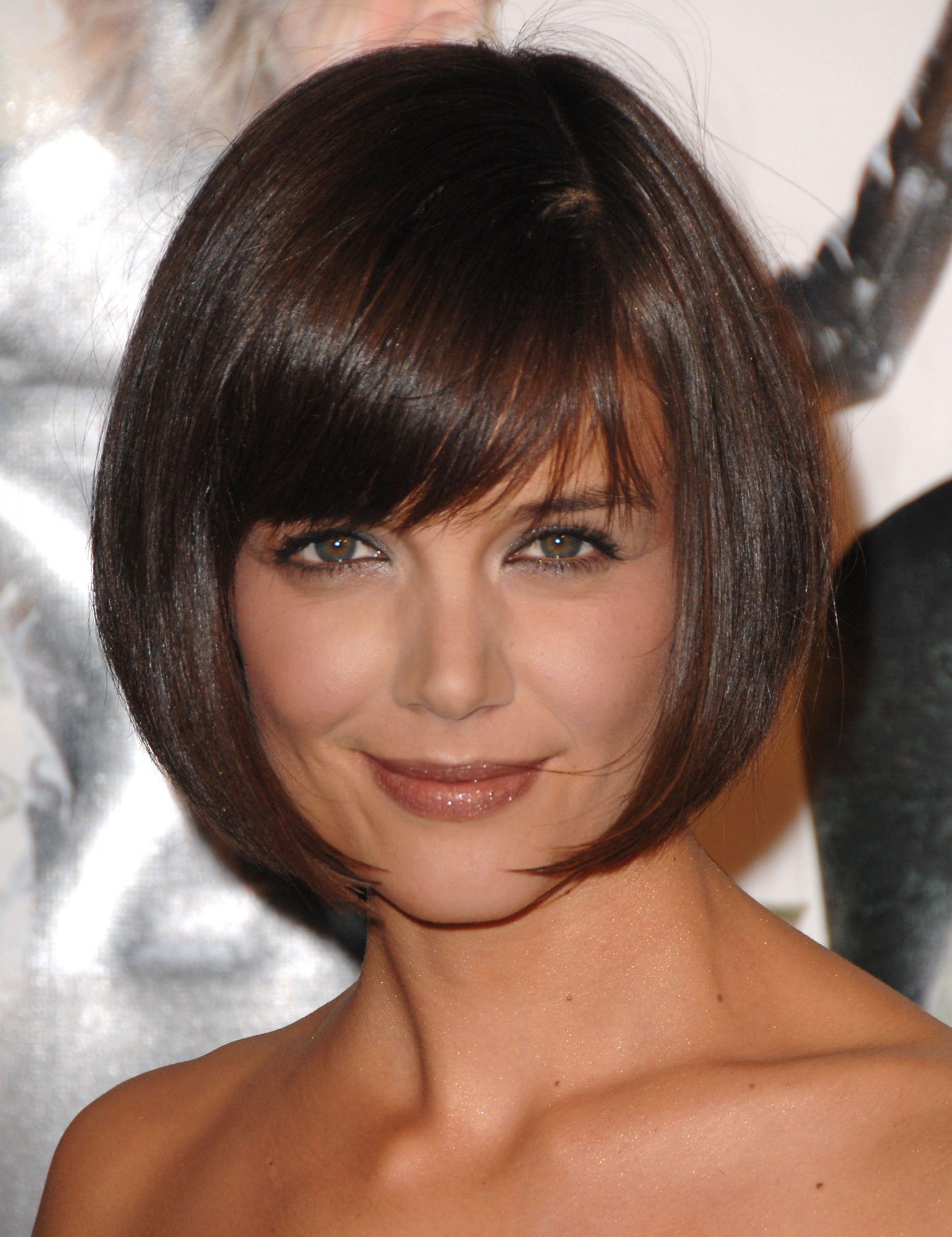 Katie Holmes' Rounded Bob