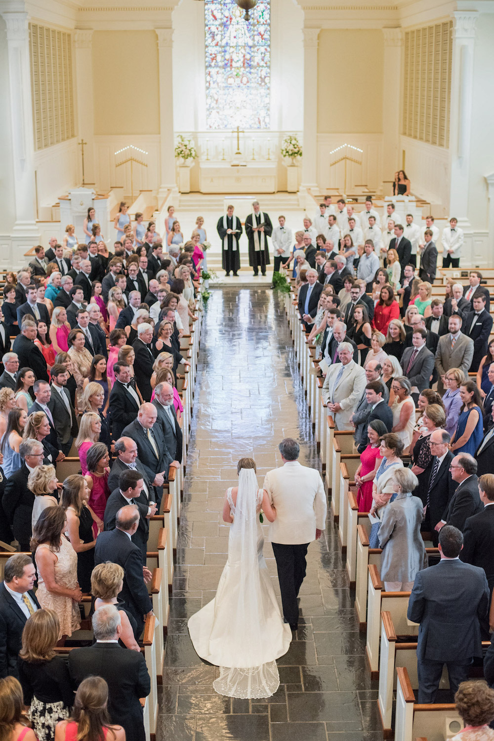 A Stately Church Ceremony