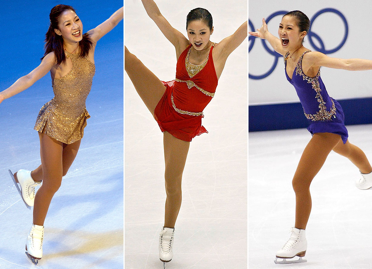 Michelle Kwan Skating Outfits