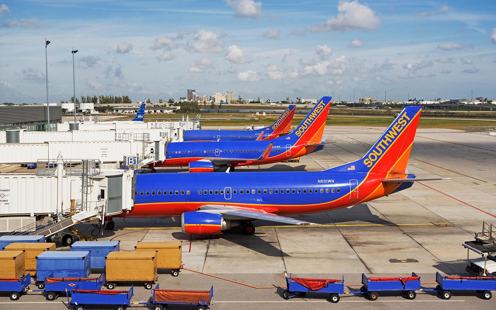 Southwest Airlines Priority Fees Airplane